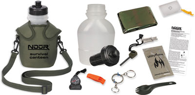 Survival Canteen Kit with Advanced Filter